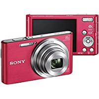 Sony DSC-W830 20MP Pink Digital Camera (International Model)