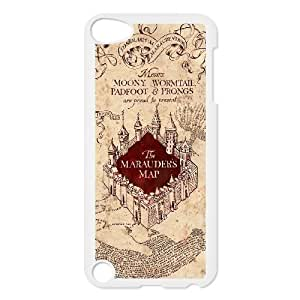 Custom High Quality WUCHAOGUI Phone case The Marauders Map - Harry Potter Protective Case FOR Ipod Touch 5 - Case-20