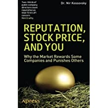 reputation stock price and you greenberg michael d kossovsky nir br andegee robert c