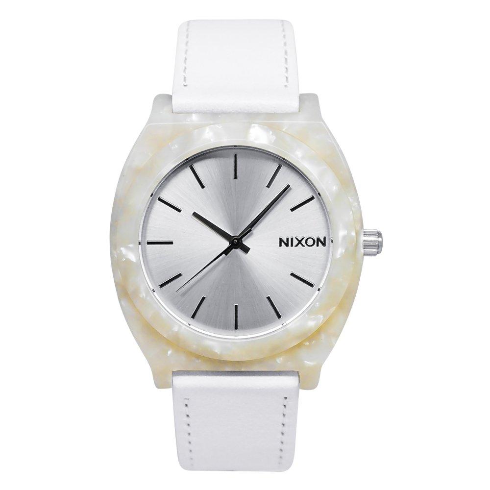 NIXON Women's A328-029 Plastic Analog White Dial Watch
