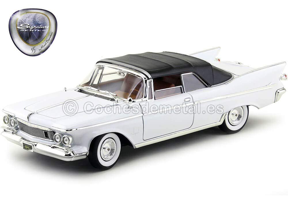 1961 Chrysler Imperial Crown Convertible Blanco Road Signature 20138W Cochesdemetal.es