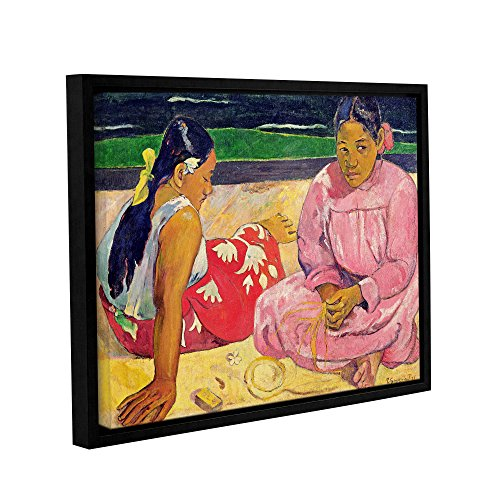 Art Wall Paul Gauguin's Women of Tahiti Gallery-Wrapped Floater-Framed Canvas, 14 x 18