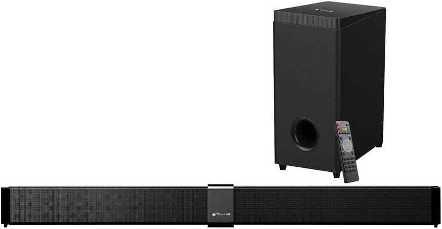 Talius Prysma - Home Cinema Barra y subwoofer, Color Negro