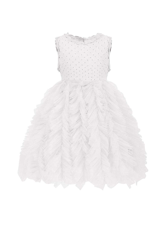 Zedde Ragazza 2-11 Anni Vestito Bambina Cerimonia Damigella da Principessa Abito Festa Compleanno Damigella dOnore