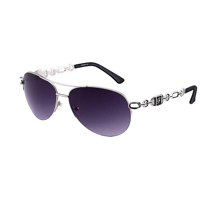 Amazon.com: FONHCOO - Gafas de sol para mujer, marco de ...