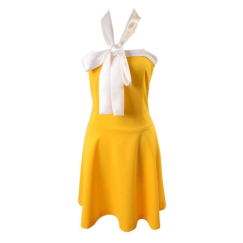 Reducción de precio Fairy Tail Levy McGarden vestido traje de Cosplay UE tamaño