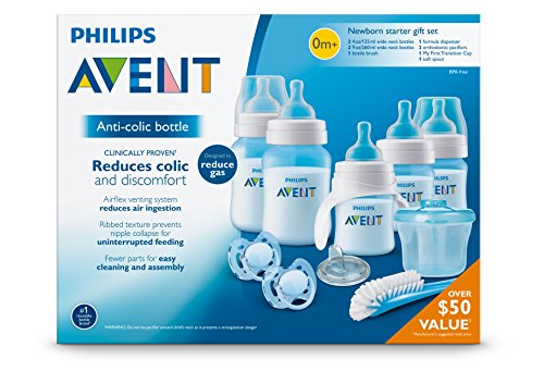 Philips Avent Anti Colic Bottle Newborn Starter Set Blue