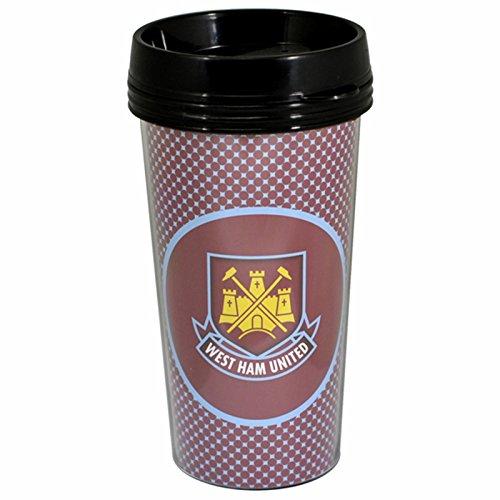 (West Ham Bullseye Journey Travel Mug Official Football Tea Coffee)