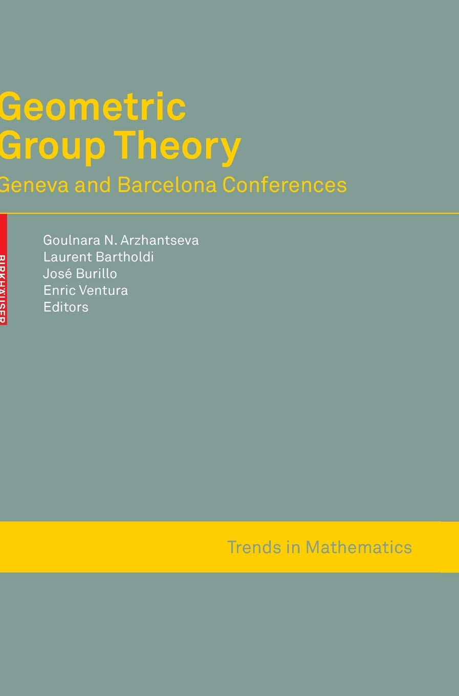 Geometric Group Theory: Geneva and Barcelona Conferences