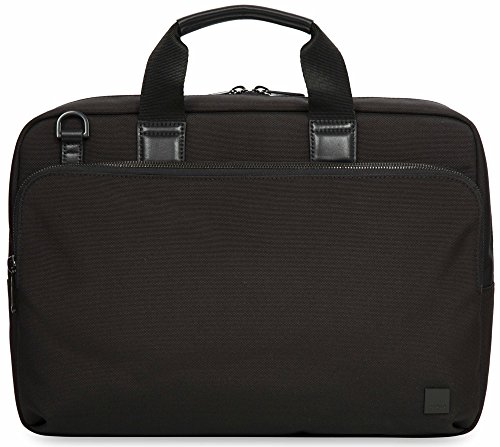 Knomo Luggage Brompton Maxwell Briefcase 15.6-inch, Black by Knomo