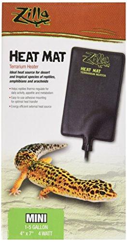 - Zilla Reptile Terrarium Heat Mats, 1-5 Gallon