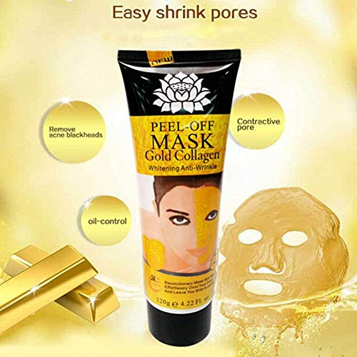 Great golden mask peel off
