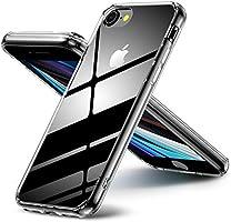Aunote iPhoneSE2/8/7/8Plus/7Plus/XS/X/XR/XsMax/11/11Pro/12/12Pro/12mini/12promax クリアケース 背面ガラス