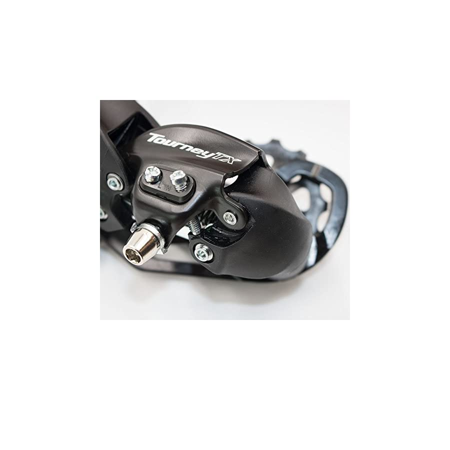 Shimano Tourney Rear Derailleur RD TX800 7/8 Speed SGS Direct Mount (Black)