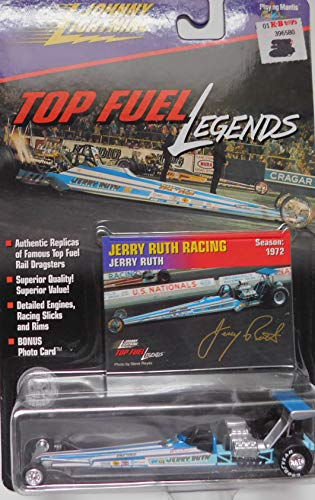 (Top Fuel Dragster Jerry Ruth Racing NHRA 1972 Top Fuel Legends Series by Johnny Lightning)