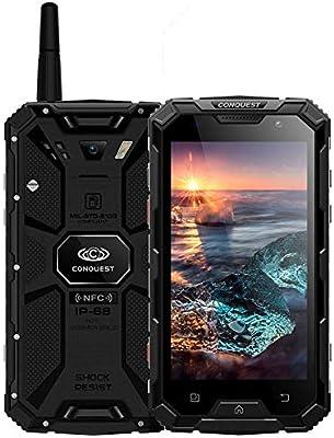 Conquest S8 Triple Phone 3 GB + 32 GB IP68 Resistente al Agua ...