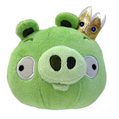 Angry Birds Plush 12-inch King Pig With Sound by Commonwealth Toy