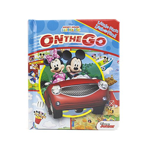 Mickey Mouse Clubhouse - On the Go - Little First Look and Find (My First Look And Find Mickey Mouse Clubhouse)