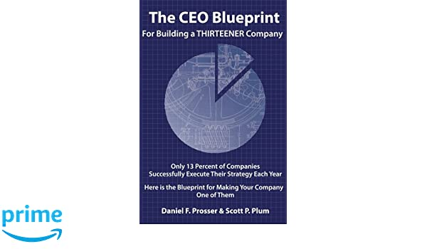 The ceo blueprint for building a thirteener company daniel f the ceo blueprint for building a thirteener company daniel f prosser scott p plum 9780985012120 amazon books malvernweather Choice Image