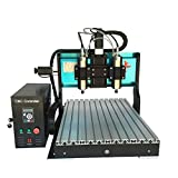 JFT 6040 CNC Router Two-headed + Industrial-level CNC Carving/ Engraving Machine (2.2Kw+Two-Headed)