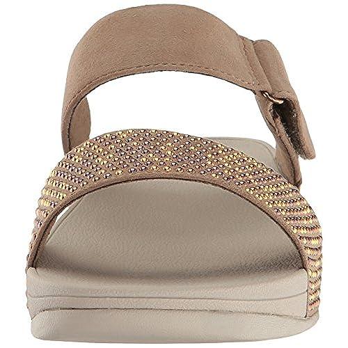 9d3336250 cheap FitFlop Women s Lulu Popstud Slide Sandal Flip Flop ...