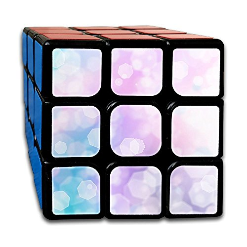 AVABAODAN Light Rhombus Rubik's Cube Original 3x3x3 Magic Square Puzzles Game Portable Toys-Anti Stress For Anti-anxiety Adults Kids by AVABAODAN