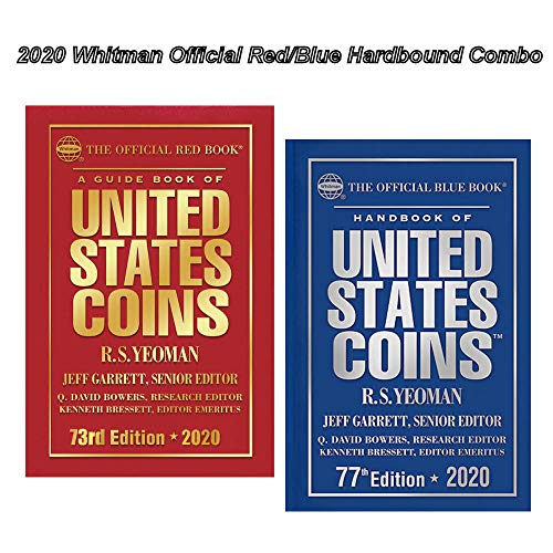2020 Red Book, Price Guide and 2020 Blue Book, Handbook of U.S. Coins, Hardbound