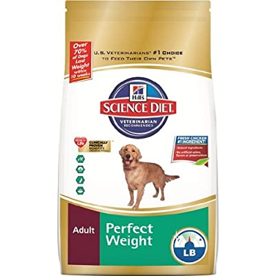 Hill'S Science Diet Perfect Weight Dry Dog Food, 30 Lb Bag