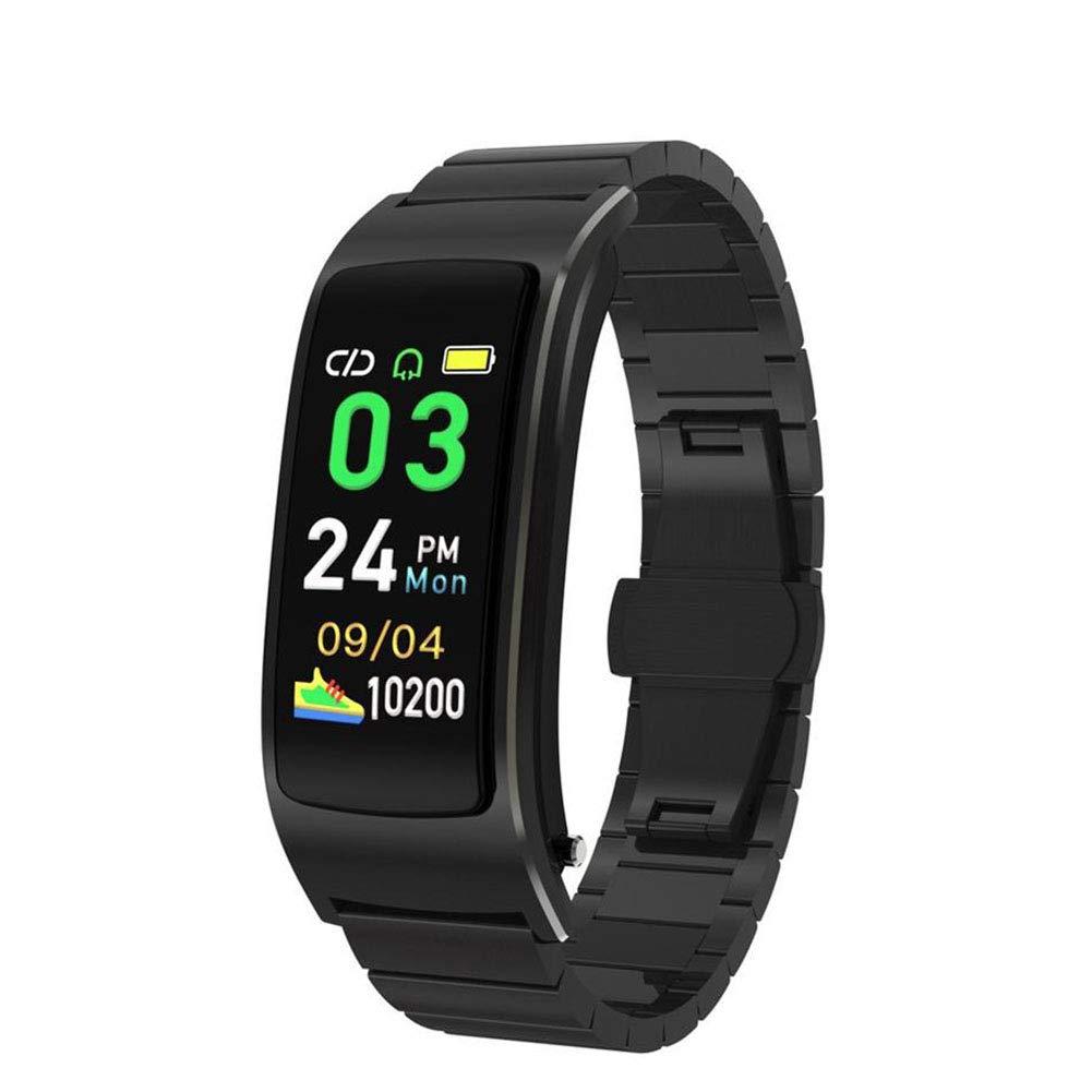 lzndeal Smart Bracelet Watch,Fitness Tracker,Monitor Smartwatch,Heart Rate Monitor,Full Display Screen,Fitness Tracking Smart Watch Heart Rate Monitor Bluetooth Wireless Sports Smart Bracelet