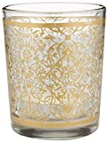 96''Golden Renaissance'' Glass Tealight Holders