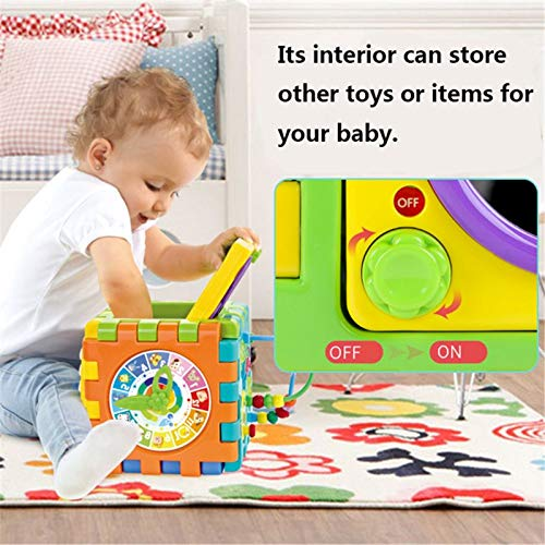Aastha Enterprise Multi-Function Play & Learn Baby Activity Cube Toys for 6 Year Old Boys & Girls