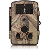 ANNKE C303 HD 720p Game and Trail Camera with IR Night Vision LEDs, Wide Angle Lens, 2.4-Inch LCD Display, and Weatherproof Housing