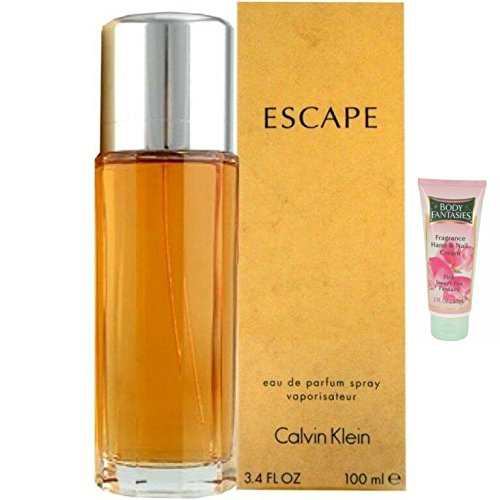 Calvn klen escape for women perfume 34oz eau de parfum spray 2oz hand cream
