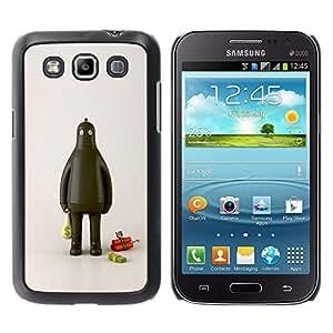 TopCaseStore / la caja del caucho duro de la cubierta de protección de la piel - Fat Robot Thief Dynamite Cash Money - Samsung Galaxy Win I8550 I8552 Grand Quattro