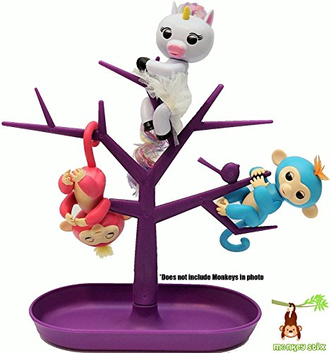 Fingerling Tree - Hanging Play Set Climbing Gym - Display Stand - Fingerlings Compatible
