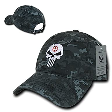 Rapid Dominance Punisher Embroidered Low Profile Soft Cotton Baseball Cap