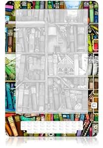 "GelaSkins Protective Kindle DX Skin (Fits 9.7"" Display, Latest and 2nd Generation Kindles), Bookshelf"