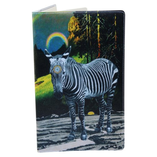Zebra Magic Sri Yantra Large Journal (Diary, Notebook) w/ Moleskine Cahier LG Cover