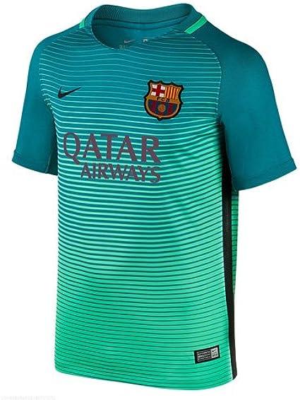 NIKE FCB Y Nk Dry Stad JSY 3 Camiseta Línea F.C. Barcelona, Niños: Amazon.es: Deportes y aire libre