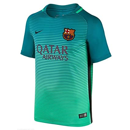 4e3d2d3f86d Image Unavailable. Image not available for. Color: Barcelona 3rd KIDS Jersey  ...