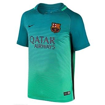 1434b794f Nike FCB Y Nk Dry Stad JSY 3 Camiseta Línea F.C. Barcelona, Niños:  Amazon.es: Deportes y aire libre