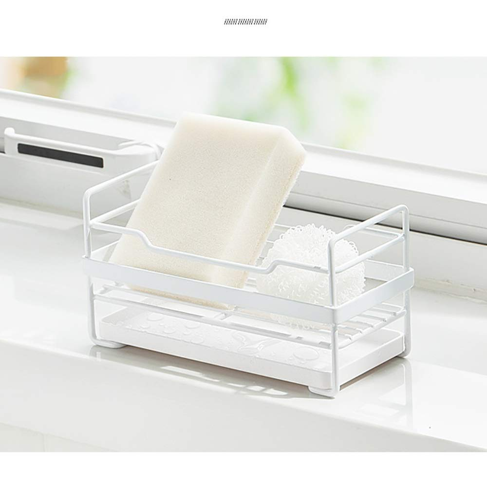 Kitchen Small storage Shelf - Dishwasher Sink Drainer - Washing and Washing Fruit Shelf Sink Tray, Telescopic, Stainless Steel by Guoqing (Image #4)