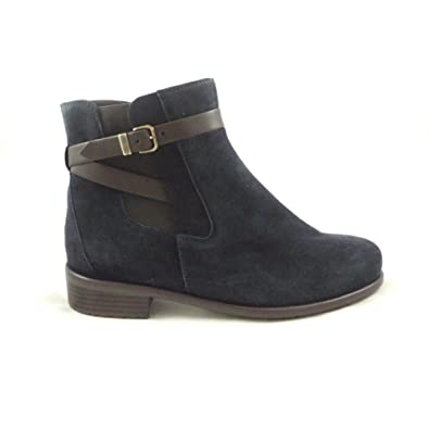 6a409ae9 ARA Liverpool-St 12-49565 Navy Blue Suede Ankle Boot: Amazon.co.uk: Shoes &  Bags