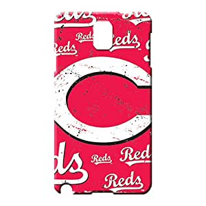 samsung note 3 cover Design pictures mobile phone carrying shells cincinnati reds mlb baseball