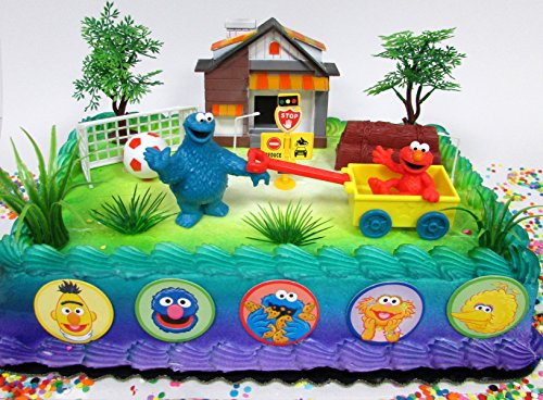sesame-street-birthday-cake-topper-set-featuring-sesame-street-friends-and-decorative-themed-accesso