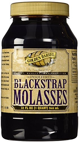 Golden Barrel Blackstrap Molasses Unsulphured 32 Oz