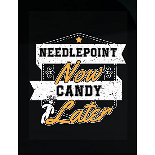Candy Needlepoint (Needlepoint Now Candy Later - Sticker)