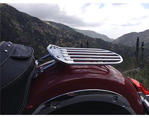 Indian Pinnacle Solo Luggage Rack Chrome 2883403-156