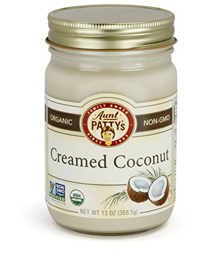 Aunt Patty's Creamed Coconut, 13 Ounce (Pack of 6)
