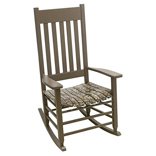 (Hinkle Chair Company Realtree Max 4 Camouflage Rocking Chair, Brown)